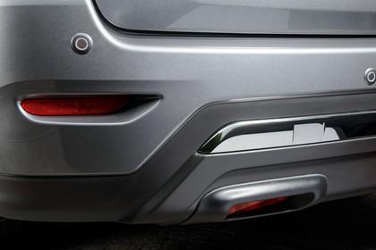 Nissan Pathfinder R51 Aussenansicht Detail Heckstoßstange statisch grau