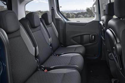 Peugeot Partner Tepee 2 Innenansicht statisch Rücksitze