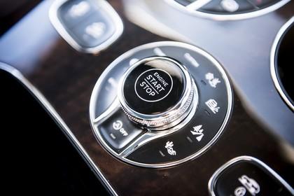Bentley Bentayga Innenansicht statisch Detail Fahr-Modus-Selektor