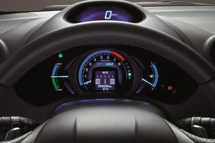 Honda Insight Studio Innenansicht Detail Tacho statisch schwarz
