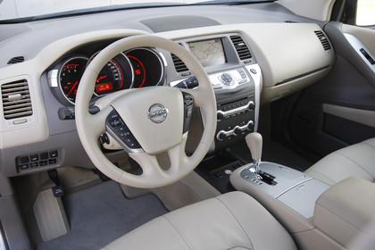 Nissan Murano Z51 Innenansicht Fagrerposition statisch beige grau