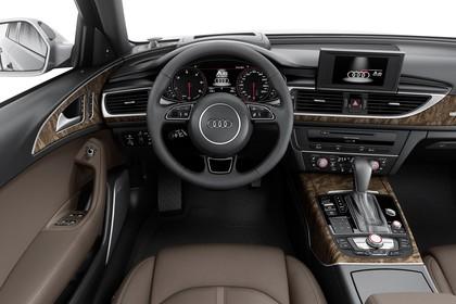 Audi A6 C7 Allroad Innenansicht Fahrerposition Studio statisch braun