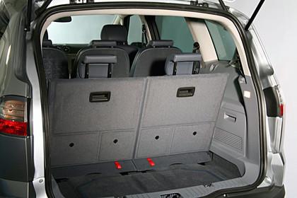Ford S-Max I Innenansicht statisch Studio Kofferraum