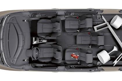 Renault Espace JK Facelift Innenansicht statisch Studio Draufsicht