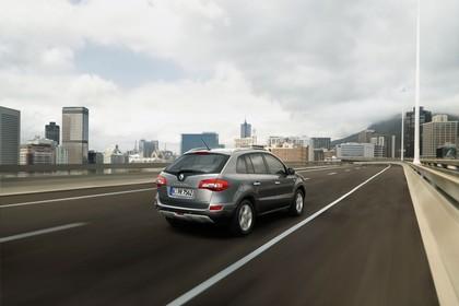Renault Koleos Y Aussenansicht Heck schräg dynamisch grau