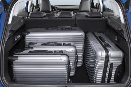 Opel Grandland X Z Innenansicht statisch Studio Kofferraum