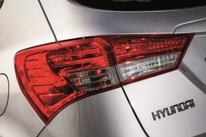 Hyundai ix20 Aussenansicht Detail statisch Rückleuchten