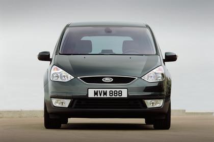 Ford Galaxy II Aussenansicht Front statisch grau