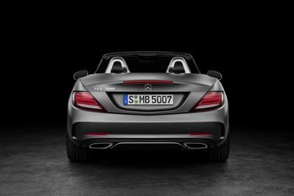Mercedes SLC R172 Aussenansicht Studio Heck statisch grau