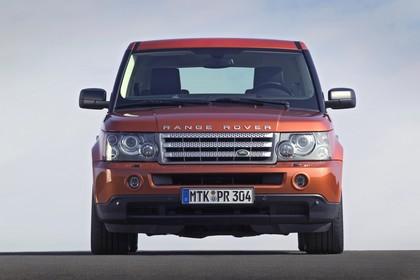 Land Rover Range Rover Sport LS Aussenansicht Front statisch orange