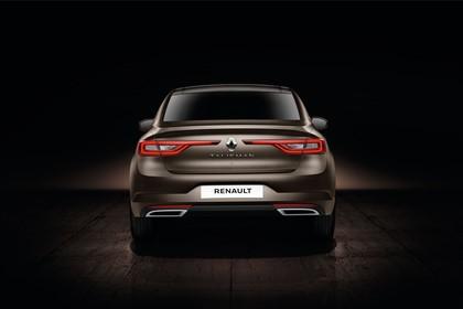 Renault Talisman RFD Aussenansicht Heck statisch Studio braun