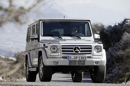 Mercedes-Benz G-Klasse W463 Aussenansicht Front statisch silber