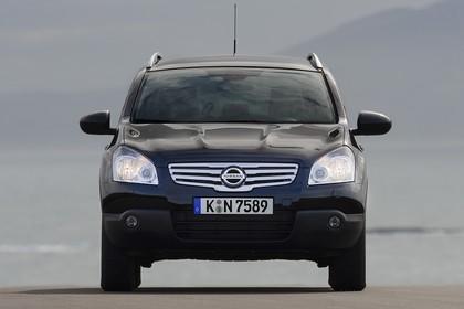 Nissan Qashqai Aussenansicht Front statisch schwarz