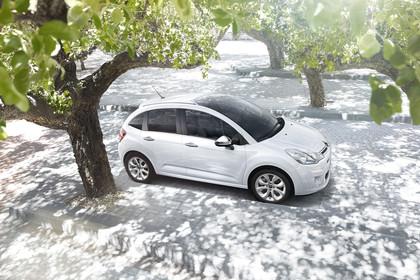 Citroën C3 S Aussenansicht Seite schräg erhöht statisch weiss