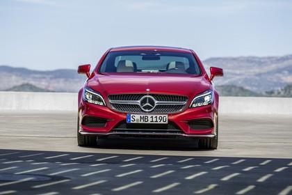 Mercedes-Benz CLS C218 Aussenansicht Front statisch rot