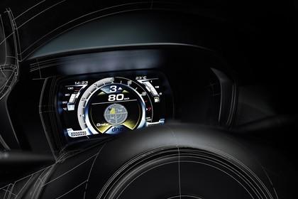 Alfa Romeo 4C Innenansicht statisch Studio Detail Tacho