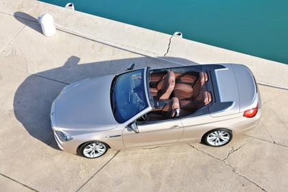 BMW 6er Cabrio F12 Aussenansicht Seite schräg erhöht statisch champoagner