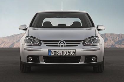 VW Golf 5 Fünftürer Aussenansicht Front statisch silber