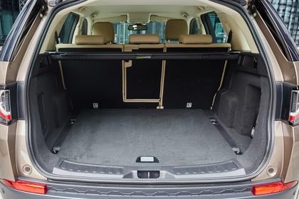 Land Rover Discovery Sport L550 Innenansicht Detail statisch schwarz Kofferraum
