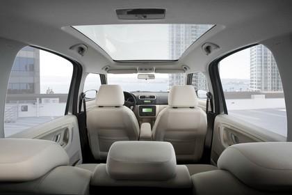 Skoda Roomster 5J Innenansicht statisch Innenraum
