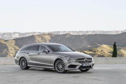 Mercedes-Benz CLS Shooting Brake X218 Aussenansicht Front schräg statisch silber