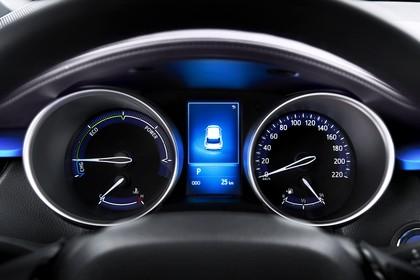 Toyota C-HR Innenansicht statisch Detail Tacho