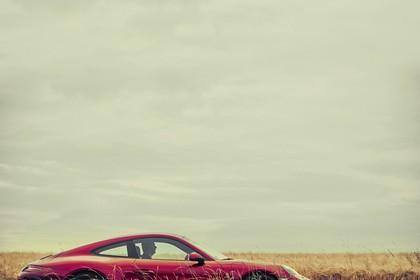 Porsche 911 Carrera S 991.2 Aussenansicht Seite statisch rot