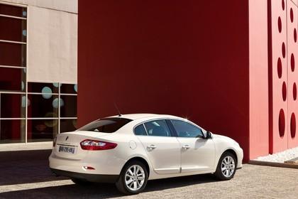 Renault Fluence Z Facelift Aussenansicht Seite schräg statisch beige
