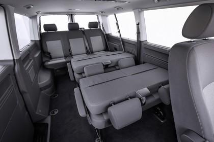 VW T5 Multivan Innenansicht statisch Studio Innenraum