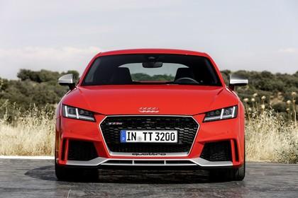 Audi TT RS 8S Roadster Aussenansicht Front statisch rot