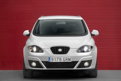 SEAT Altea XL 5P Facelift Aussenansicht Front statisch weiss