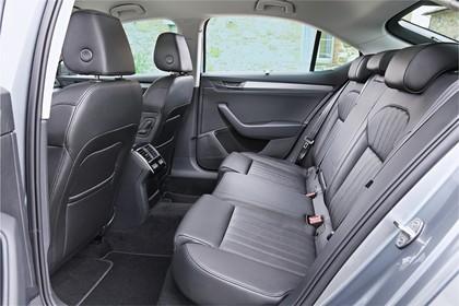 Skoda Superb Limousine 3V Innenansicht Rücksitze statisch