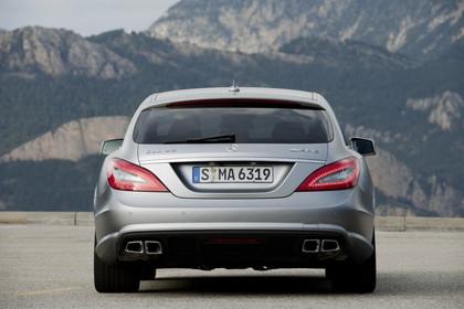 Mercedes-AMG CLS  Shooting Brake X218 Aussenansicht Heck statisch silber