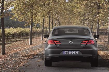 VW CC 3C/35 Facelift Aussenansicht Heck statisch grau