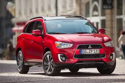 Mitsubishi ASX GAO Aussenansicht Front schräg statisch rot