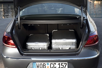 VW CC 3C/35 Facelift Innenansicht statisch Kofferraum