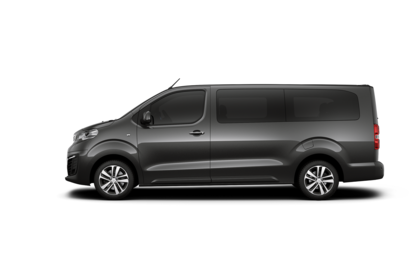 Peugeot Traveller V Aussenansicht Seite statisch Studio grau