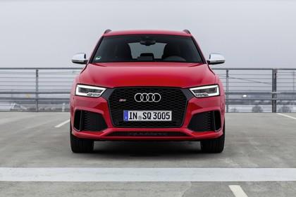 Audi RSQ3 8U Aussenansicht Front statisch rot