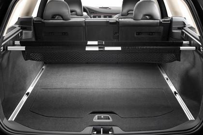 Volvo V70 Innenansicht Kofferraum statisch schwarz