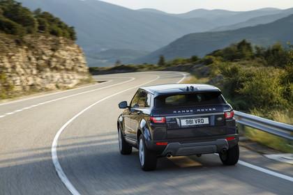 Range Rover Evoque L538 Aussenansicht Heck dynamisch schwarz
