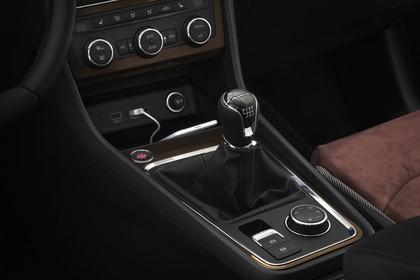 SEAT Ateca KH Innenansicht Mittelkonsole Klimakontrolle und Schalter