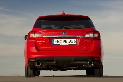 Subaru Levorg Aussenansicht Heck statisch rot