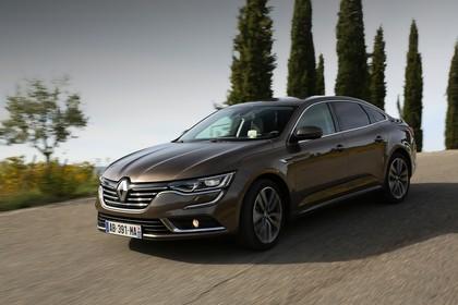 Renault Talisman RFD Aussenansicht Front schräg dynamisch braun
