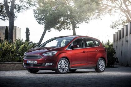 Ford C-MAX Seite schräg statisch rot