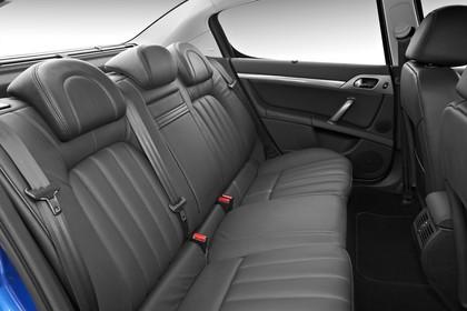 Peugeot 407 6 Limousine Innenansicht statisch Studio Rücksitze