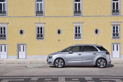 Citroën C4 Picasso 2 Aussenansicht Seite statisch silber