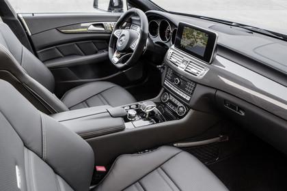 Mercedes-AMG CLS  Shooting Brake X218 Innenansicht Vordersitze statisch schwarz