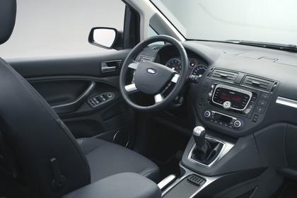 Ford C-Max Studio Innenansicht Beifahreransicht statisch schwarz