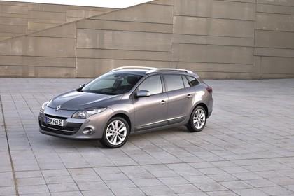 Renault Mégane Grandtourer Z Aussenansicht Seite schräg statisch grau