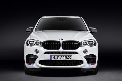 BMW X5 M F85 Aussenansicht Front statisch weiss